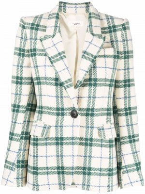 Check-pattern blazer Isabel Marant Étoile. Цвет: нейтральные цвета