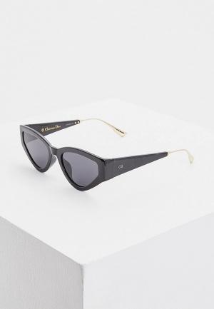 Очки солнцезащитные Christian Dior CATSTYLEDIOR1 807. Цвет: черный