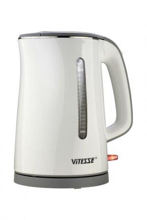 Чайник электрический 1,7л Vitesse. Цвет: белый, серый