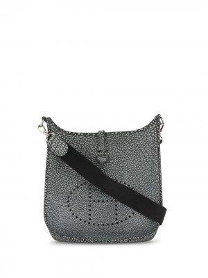 Сумка на плечо Evelyne PM 2002-го года Hermès. Цвет: серый