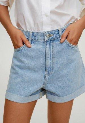 Шорты джинсовые Mango - BERMUDA. Цвет: голубой
