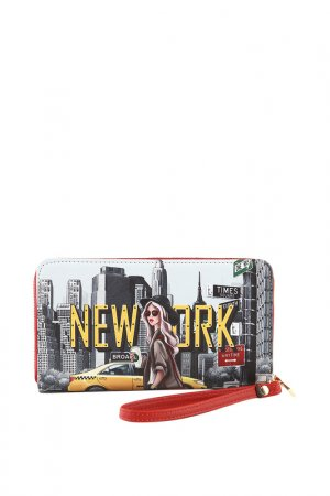 Кошелек Nicole Lee. Цвет: new york walk