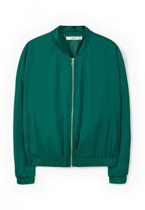 Куртка Mango - FEBRERO. Цвет: зеленый