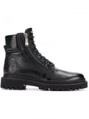 Ботинки Ranger Balmain. Цвет: черный