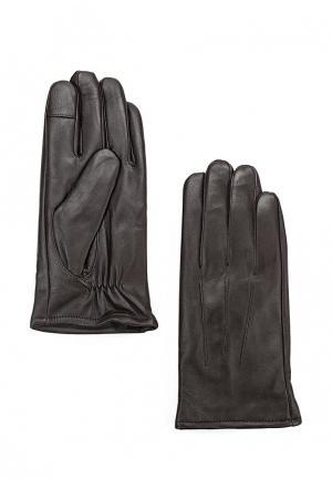Перчатки Topman. Цвет: коричневый