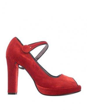 Туфли ALBINO. Цвет: красный