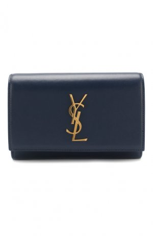 Поясная сумка Monogram Kate Saint Laurent. Цвет: синий