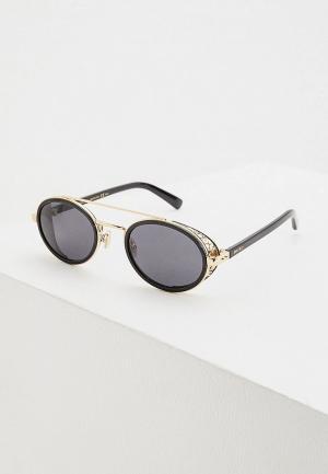 Очки солнцезащитные Jimmy Choo TONIE/S 2M2. Цвет: черный