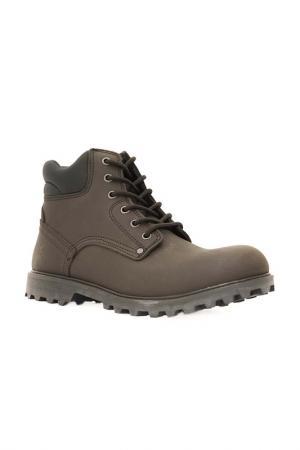 Ботинки Front by Ascot. Цвет: dark brown, коричневый