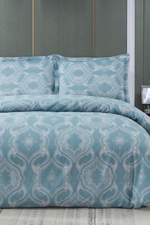 Постельное белье 1,5 сп. Arya home collection. Цвет: голубой