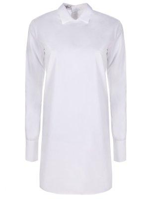 Рубашка удлиненная хлопковая VALENTINO
