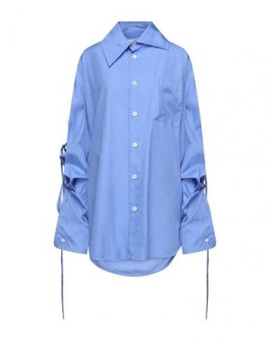 Pубашка VIVIENNE WESTWOOD. Цвет: лазурный
