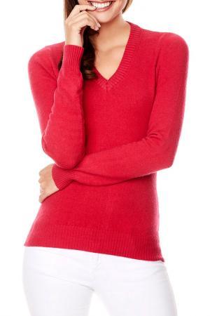 Пуловер Vincenzo Boretti. Цвет: fuchsia