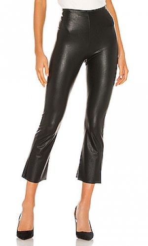 Укороченные брюки faux leather Commando. Цвет: черный