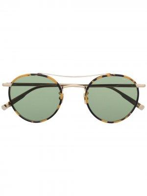 Солнцезащитные очки из коллаборации с Rimowa Garrett Leight. Цвет: коричневый