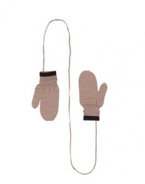 Перчатки BAND OF OUTSIDERS. Цвет: бежевый
