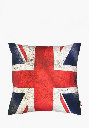Наволочка декоративная Altali Я люблю Лондон. Цвет: разноцветный