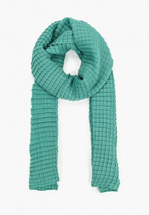 Палантин Sela. Цвет: зеленый