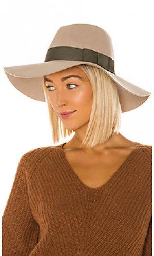 Шляпа piper Brixton. Цвет: беж
