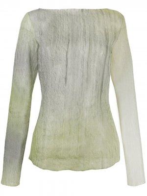 Блузка с мятым эффектом Nina Ricci