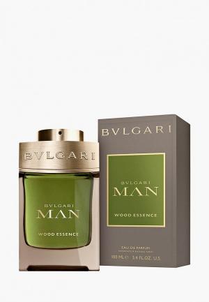 Парфюмерная вода Bvlgari Man Wood Essence, 100 мл. Цвет: прозрачный
