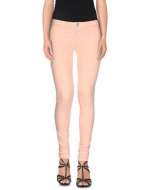 Джинсовые брюки JCOLOR. Цвет: светло-розовый