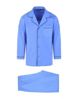 Пижама AMBASSADOR. Цвет: пастельно-синий