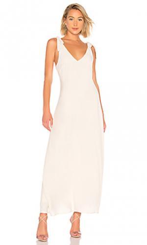 Платье fiona Line & Dot. Цвет: кремовый