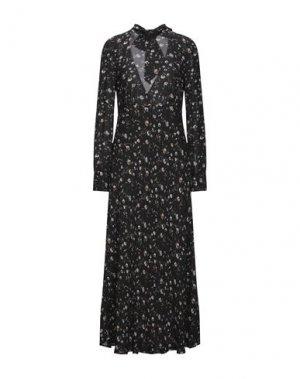 Длинное платье IRO. Цвет: черный