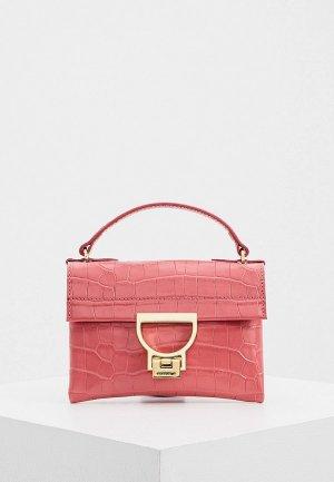 Сумка Coccinelle MIGNON. Цвет: розовый