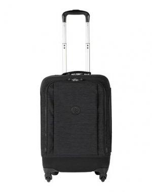 Чемодан/сумка на колесиках KIPLING. Цвет: черный