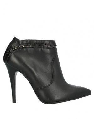 Полусапоги и высокие ботинки BADURA. Цвет: черный