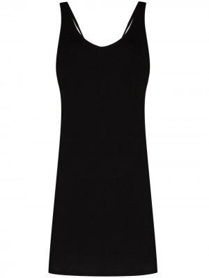 Ночная сорочка Catherine Pima Skin. Цвет: черный