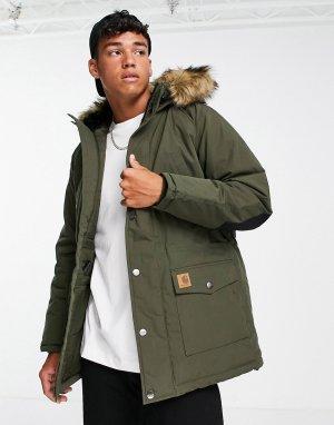 Куртка-парка Trapper-Черный цвет Carhartt WIP