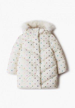 Куртка утепленная АксАрт. Цвет: белый
