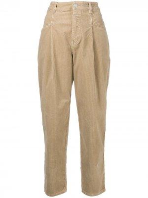 Зауженные вельветовые брюки Pearl Closed. Цвет: нейтральные цвета