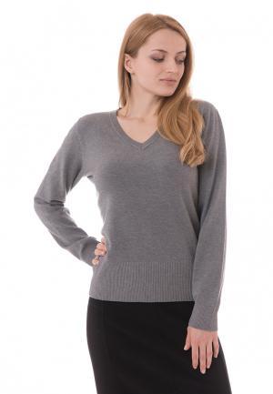 Пуловер Sempre. Цвет: серый