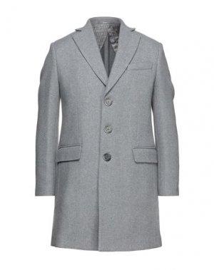 Легкое пальто HAVANA & CO.. Цвет: серый