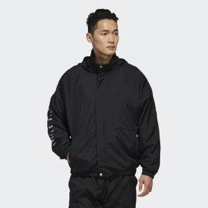 Куртка M S2S WOV JKT Athletics adidas. Цвет: черный