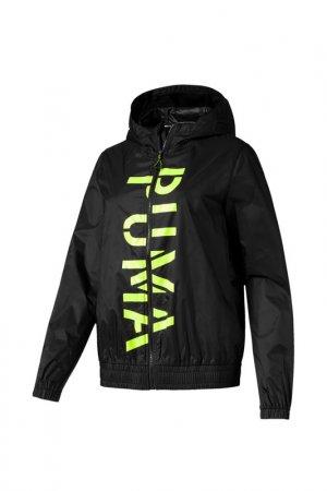 Ветровка Be Bold Graphic Woven Puma. Цвет: черный