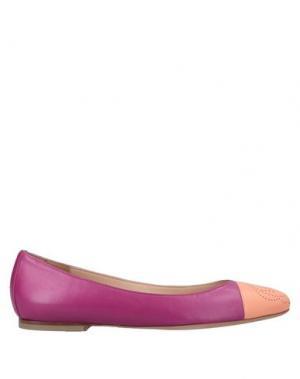 Балетки VIKTOR & ROLF. Цвет: розовато-лиловый