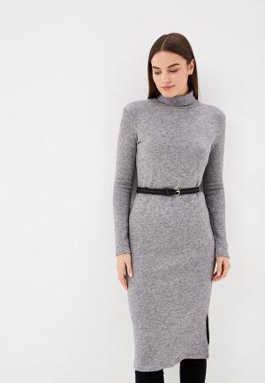 Платье Elle Land. Цвет: серый