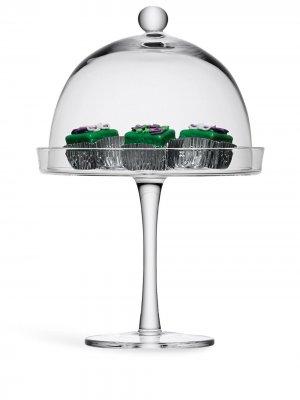 Подставка под десерт Vienna с крышкой LSA International. Цвет: нейтральные цвета