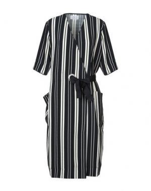 Платье до колена LIBERTINE-LIBERTINE. Цвет: темно-синий