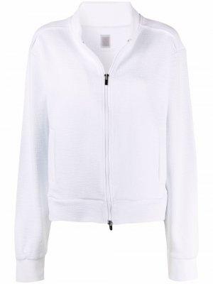 Легкая куртка на молнии Eleventy. Цвет: белый