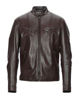 Куртка DROMe. Цвет: темно-коричневый