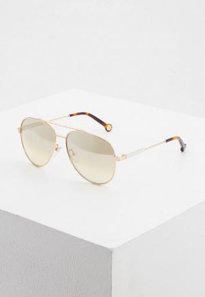Очки солнцезащитные Carolina Herrera C-Herrera-150-300G. Цвет: золотой