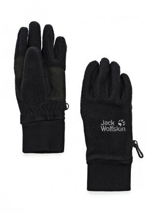 Перчатки Jack Wolfskin VERTIGO GLOVE. Цвет: черный