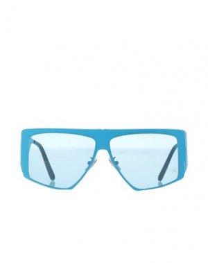 Солнечные очки PHILIPP PLEIN. Цвет: лазурный
