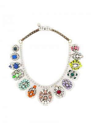 Ожерелье Rainbow Shourouk. Цвет: разноцветный